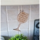Wine Glass Kitchen motto Sign hanger