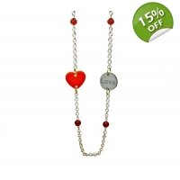 Everlasting Love Charm Necklace