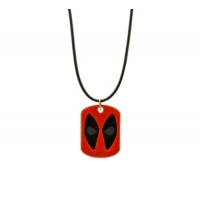 Deluxe Deadpool Dog tag Necklace