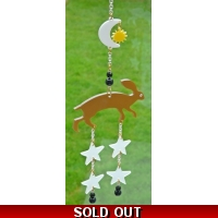 Ltd Edt Majestic Hare Window Chime