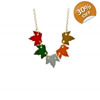 Autumnal Leaves Necklace
