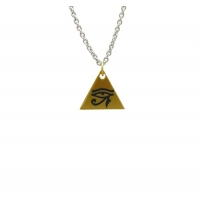 Single Eye of Horus Pyramid Chain