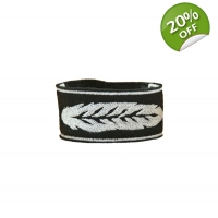 White feather Unisex Cuff Bracelet