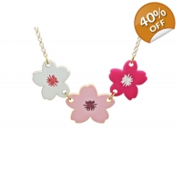 Cherry Blossom Statement Necklace