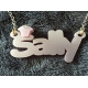Personalised Mini Statement Name Necklace