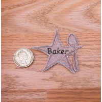 Star Baker Sew On Iron on Patches