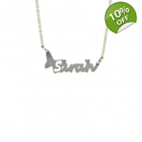 Butterfly Personalised Name Neckl..