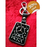 Crystallized Mercedes Benz Car Keyring