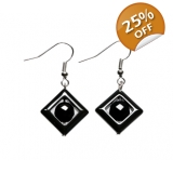 Aztec Geo gemstone Earrings