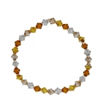 Golden Sands Crystal Bracelet