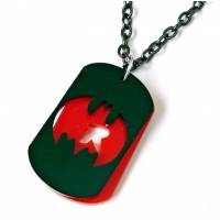 Batman and robin deluxe dog tag n..