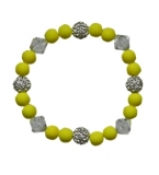 Ladies Iced Lemon and crystal Bracelet