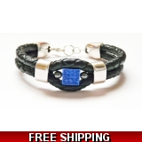 Osiris double Leather Bracelet