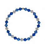 Ladies Paradise Blue Crystal Bracelet