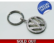 VW Passat Camper Crystallised Keyring Fob Car Ac..