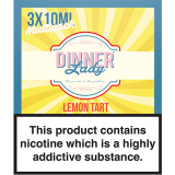 Dinner Lady Lemon Tart 3mg 30ml 3 X 10..