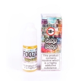 3 For £10.47 Cake Bake By Fooza 3mg 10ml