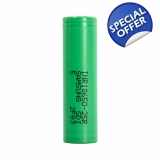 Samsung 25r 2500mah 3.7v 18650 Battery..