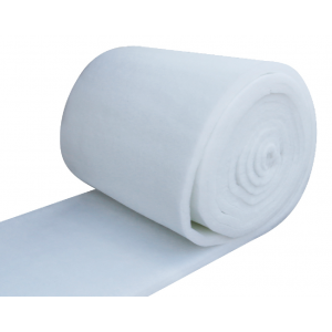 Soft Polyester Fibre Insulation White 50mm, 500gsm 1m PES Fibre