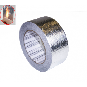 High Temperature Woven Tape 50mm Silver Woven Tape High Temperature