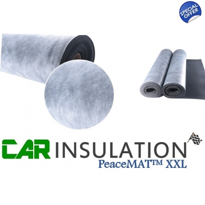 PeaceMAT™ XXL Vehicle Sound Deadening MLV Insulation Material 3mm