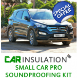 Car Insulation Soundproofing Kit,Small..