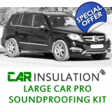 Car Soundproofing Kit - Large Car Exc ..