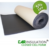 10m BULK Roll 10mm Black Closed Cell F..