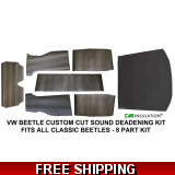 VW Beetle Sound Deadening, Sound Proof..