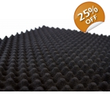 2m x 1m Flame Retardant Egg Box Foam I..
