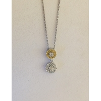 Citris Diamond Necklace