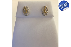 Citris Diamond Earrings