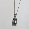 London Blue Topaz Neckl..