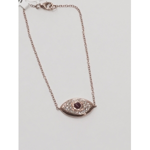Rose Gold Eye Bracelet