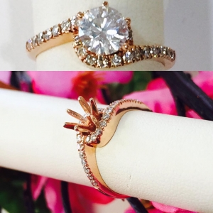 Rose Gold Engagment Ring