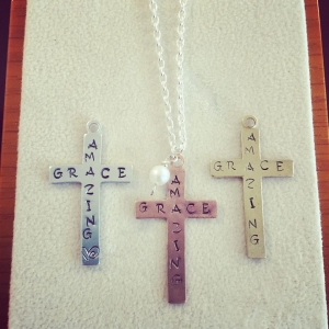 Cross with Birthstone