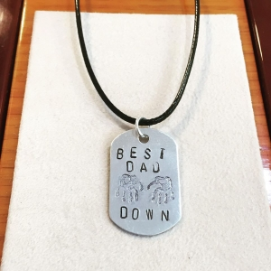 Best Dad Necklace