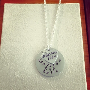Layered Personalized Necklace