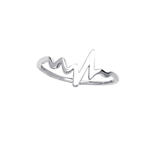 Heartbeat Ring 14K
