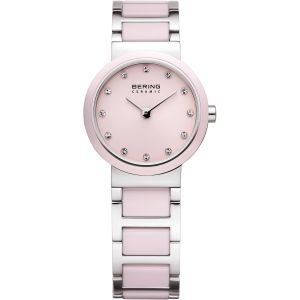 Pink Ceramic Bering Watch