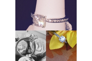 18K Engagment Ring