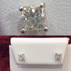 Princess Cut Diamond St..
