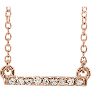 Diamond Petite Bar Neck..