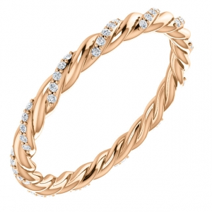 Diamond Stackable Ring