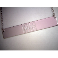 COLTS Bar Necklace