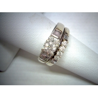 Estate Diamond Wedding Set