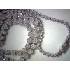 Estate Diamond Cluster Necklace