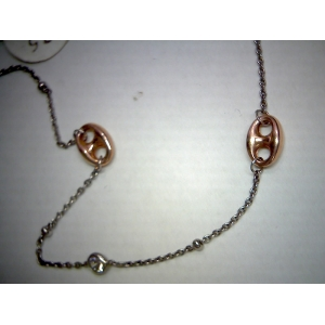 Rose Gold Plate Anklet