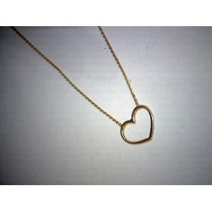 Yellow Gold Open Heart ..
