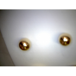 Yellow Gold 6MM Ball Stud Ea..